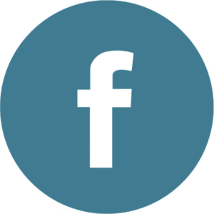 FB logo - blue